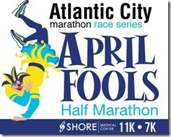 April Fools Half Marathon Logo