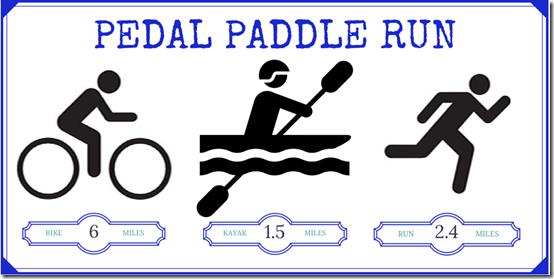 PEDAL PADDLE RUN