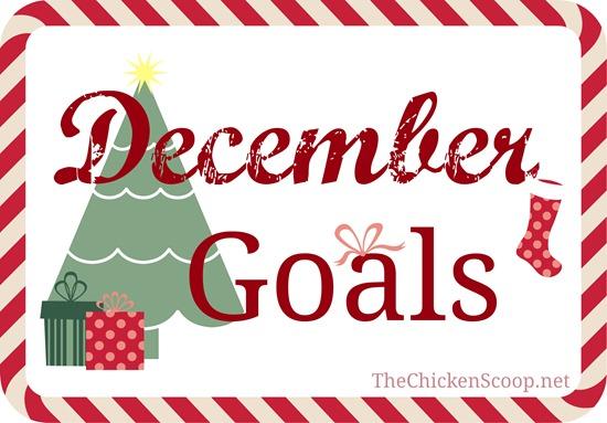 December 2014 Goals