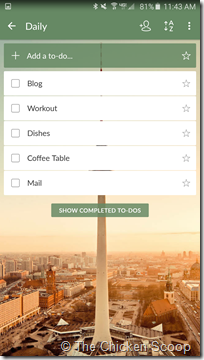 Wunderlist Android (3)