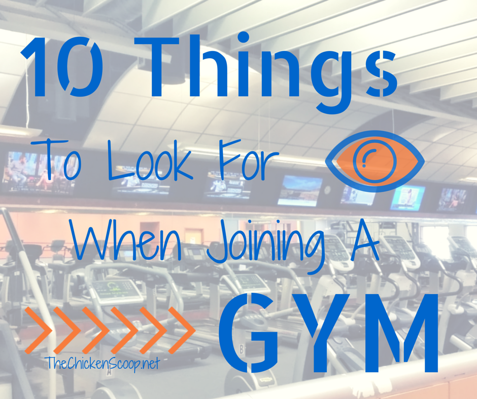 10 Things to Look for When Joining a Gym