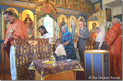 An Orthodox Baptism